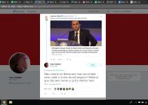 Menções aos presidenciáveis no twitter bate recorde durante a exibição do debate na televisão